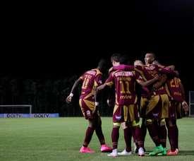 Tolima ya está en semifinales de la Copa Colombia tras vencer a Cali en los penaltis. EFE/Archivo