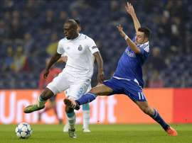 Martins Indi (L) in action for parent club Porto. EFE
