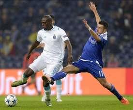 Martins Indi pertenece al Oporto, pero está cedido en el Stoke City. EFE