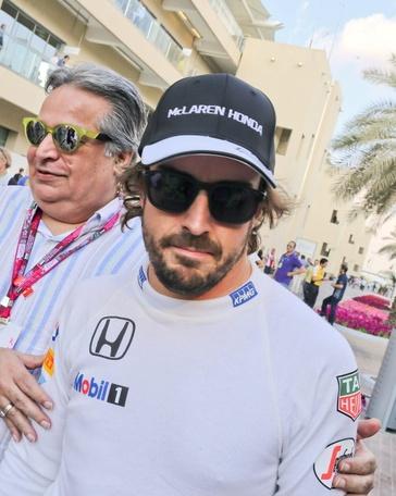 El español Fernando Alonso (McLaren). EFE/Archivo