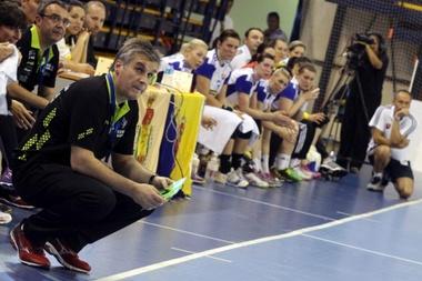 El seleccionador de balonmano femenino de España, Jorge Dueñas. EFE/Archivo