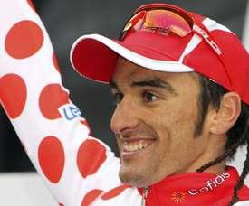 El ciclista español, Luis Ángel Maté, del equipo Cofidis. EFE/Archivo