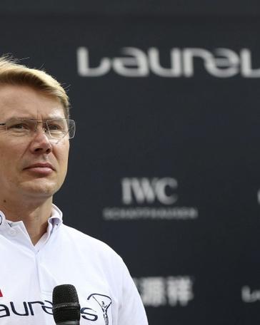 El finlandés Mika Hakkinen, campeón mundial de Fórmula Uno en 1998 y 1999 con McLaren. EFE/Archivo