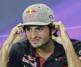 El español Carlos Sainz, de la escudería Toro Rosso. EFE/Archivo