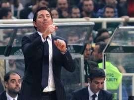 Xavi Pascual, entrenador del FC Barcelona Lassa. EFE/Archivo