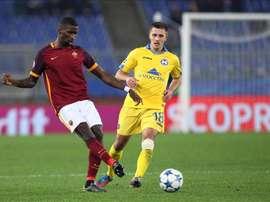 O alemão, de 24 anos, está na Romas há, praticamente, duas temporadas. EFE