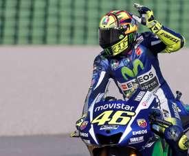 El piloto italiano Valentino Rossi. EFE/Archivo