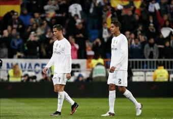 Ronaldo and Varane were teammates at Real Madrid. EFE/Archivo