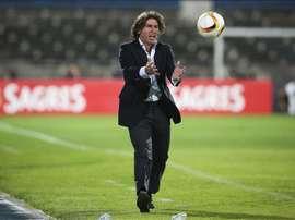 El entrenador ya dirigió al Atromitos en la 14-15. EFE