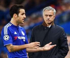 Cesc Fàbregas chose Mourinho. EFE