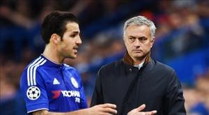 Fabregas revela os segredos de Mourinho. EFE