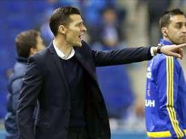 Constantin Galca est le nouvel entraîneur de l'Espanyol Barcelone. AFP