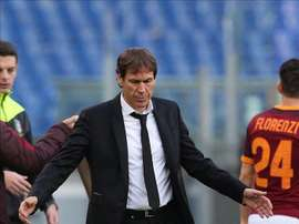Roma were dumped out of the Coppa Italia by Spezia. EFE