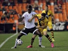 El Barakaldo ha llegado a un acuerdo por el centrocampista David Cuerva. EFE