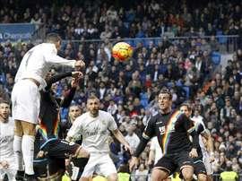 Le Rayo avait encaissé 10 buts lors de son dernier déplacement à Bernabéu. EFE