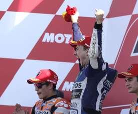 El piloto español Jorge Lorenzo (Yamaha ). EFE/Archivo