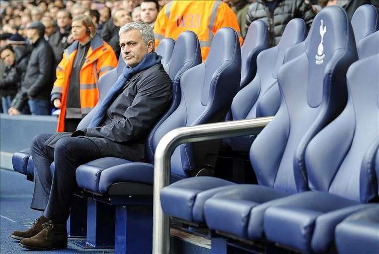 El técnico portugués José Mourinho. EFE/Archivo