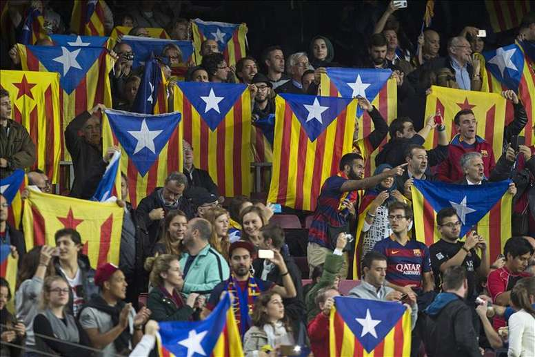 The CDRs had planned a mass demonstration for the Barca-Madrid game. EFE/Archivo