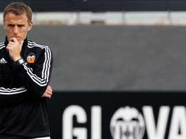 Phil Neville, o cómo pasar del Valencia a un Tercera inglés. EFE