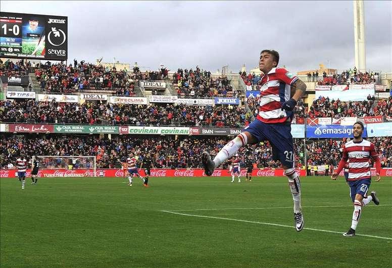 El Granada se juega la permanencia en su duelo directo ante el Levante de la próxima jornada. EFE