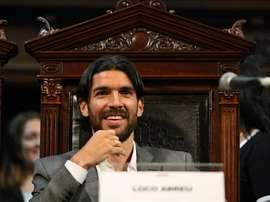 'El Loco' Abreu ha firmado por el modesto Bangu de Brasil, el 23º equipo de su carrera. EFE/Archivo