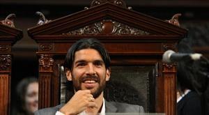 L'Uruguayen Sebastián Abreu Gallo. AFP