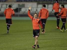 Saviola repasó su carrera y al actualidad del Barça. EFE/Archivo