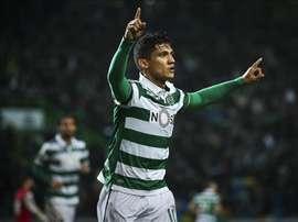Montero teve uma 1ª passagem feliz pelos 'verde e brancos'. EFE/EPA