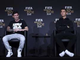 Rendimiento a partir de febrero: fiable Messi, salvaje Cristiano. EFE
