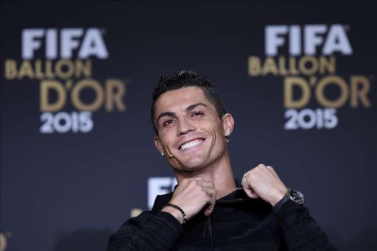 Agnelli espera ver Cristiano com o prêmio outra vez. EFE