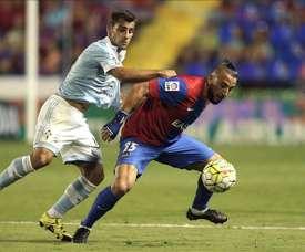 Nabil Ghilas se marchará del Levante a final de temporada. EFE/Archivo