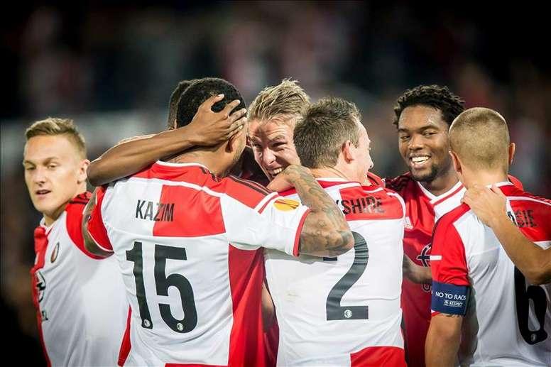 El Feyenoord llevaba ocho años sin levantar la Copa de Holanda. EFE/Archivo