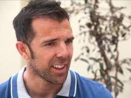El exjugador de fútbol español Carlos Marchena. EFE/Archivo