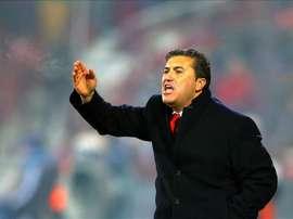 Despedido do Sp. Braga em dezembro, atualmente Peseiro treina nos Emirados árabes Unidos. EFE/Archiv
