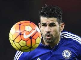 Chelsea striker,  Diego Costa. EFE/Archivo