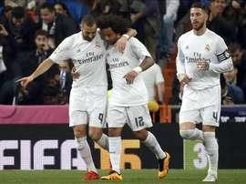 Le Real Madrid se mesurera à Fuenlabrada. EFE
