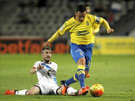 Swansea are hoping to sign Roque Mesa from Las Palmas. EFE/Archivo