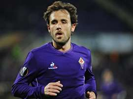 Verdú, en su etapa en la Fiorentina. EFE/Archivo