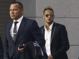 Reunião confirmada entre Neymar Pai e a Juve. EFE