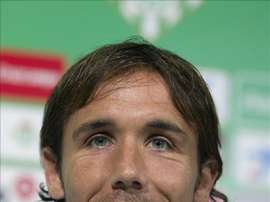 Fotografía de archivo del 28 de junio de 2013 del centrocampista Joan Verdú, que ha fichado por el Levante, procedente de la Fiorentina italiana, por lo que queda de la presente temporada y una más. EFE/Archivo