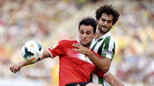 Fran Cruz está como loco por volver al Córdoba. EFE
