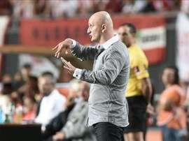 El Bani Yas destituyó a Pablo Repetto como técnico del equipo. EFE/Archivo