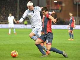 Ezequiel Muñoz pourrait passer d'un club italien à un autre la saison prochaine. EFE