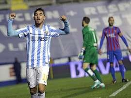 Si el Sporting de Braga quiere quedarse a Horta ya sabe lo que tiene que pagar al Málaga.EFE/Archivo