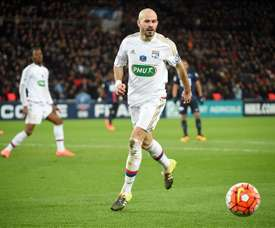 Christophe Jallet seguirá en el Olympique de Lyon. EFE