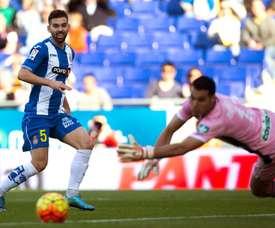 Víctor Álvarez no seguirá en el Espanyol. EFE