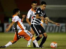 Corinthians s'est attaché les services de Lucca Borges en 2016. EFE
