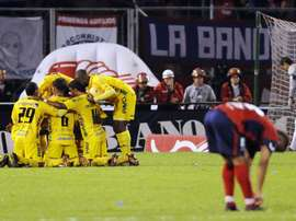 Atlético Huila venció a Deportivo Cali por 1-0. EFE/Archivo