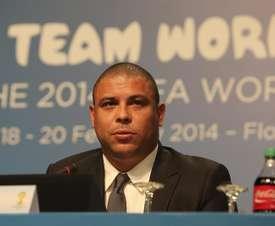 Ronaldo Nazário está ingresado en un centro privado. EFE