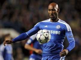 El francés Nicolas Anelka, en una foto de 2011 en su etapa como jugador del Chelsea. EFE/Archivo